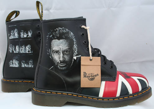 Walking Dead Dr Martens, Right side.