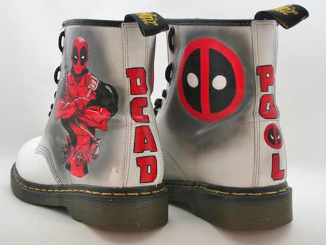 Deadpool Dr Martens