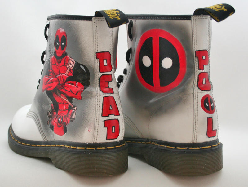 Deadpool Dr Martens by RTyson