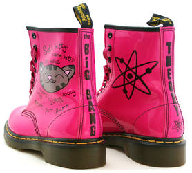 Big Bang Theory Soft Kitty Dr Martens