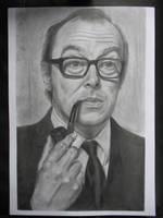 Eric Morecambe portrait