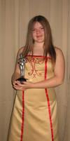 Danielle's Oscar dress by RTyson