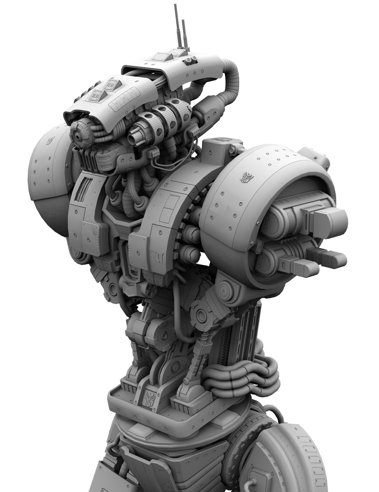 Arm Mechanism WIP 107 by Donvius
