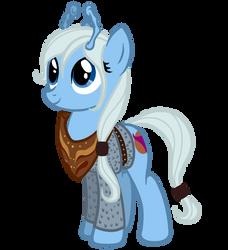 Pony trek. Alien: andorian by HengeBellika