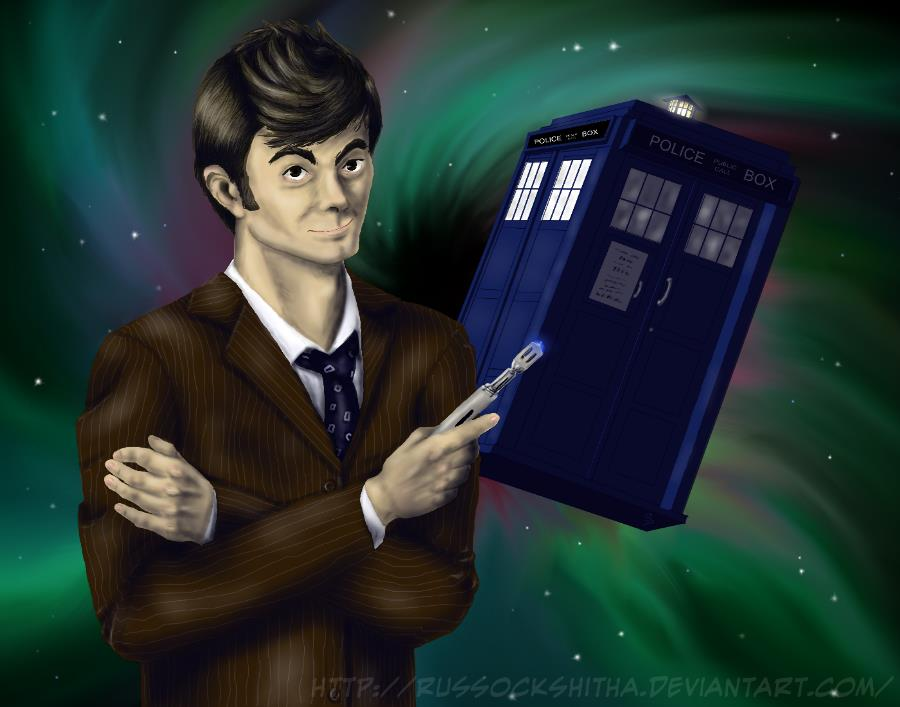 The Tenth Doctor by Russockshitha