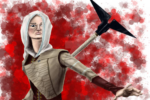 Amanda the Mage - blood version