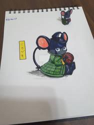 20170802 sketch Orphan-chu Mikazuki