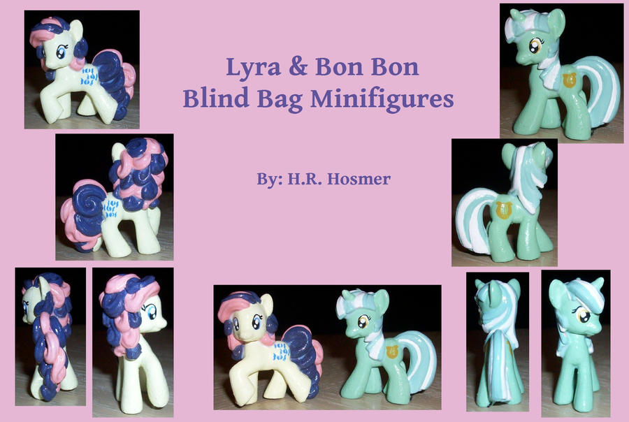 Custom Lyra + Bonbon Blind Bag by Gryphyn-Bloodheart