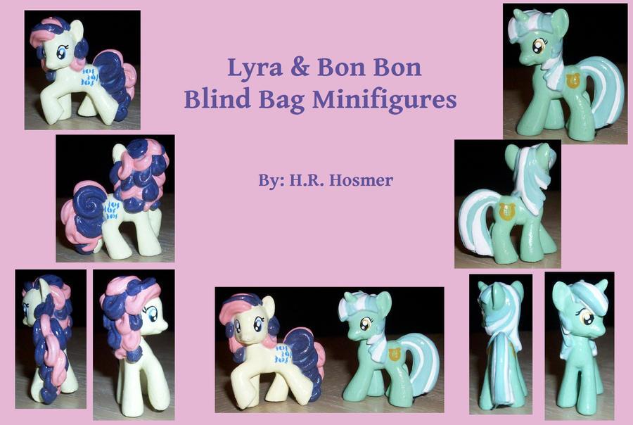 Custom Lyra + Bonbon Blind Bag by Gryphyn-Bloodheart