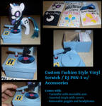 Vinyl Scratch with Accessories