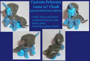 Princess Luna with Cloak Mini by Gryphyn-Bloodheart