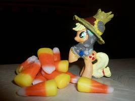 Applejack Scarecrow Costume by Gryphyn-Bloodheart
