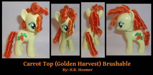 Custom Carrot Top Golden Harvest Brushable