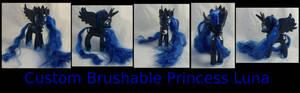 Custom Brushable Princess Luna