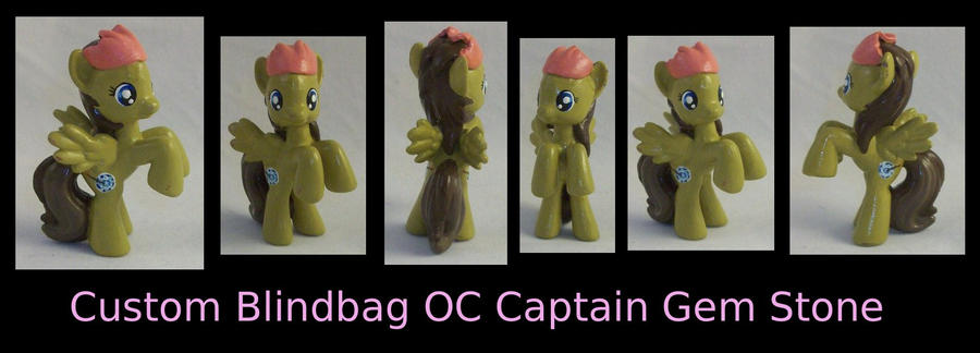 Custom Blindbag OC Captain Gem Stone by Gryphyn-Bloodheart