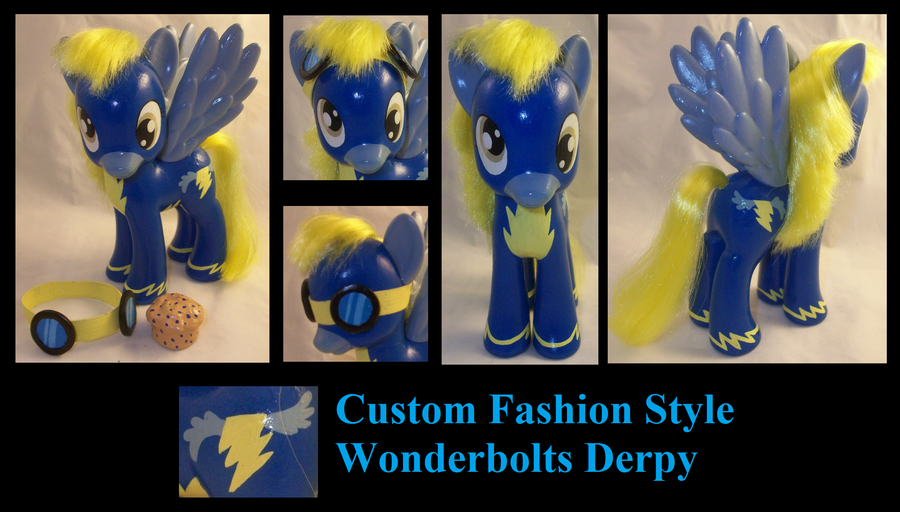 Fashion Style Wonderbolts Derpy Hooves by Gryphyn-Bloodheart
