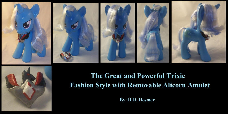 Trixie with Removable Alicon Amulet by Gryphyn-Bloodheart