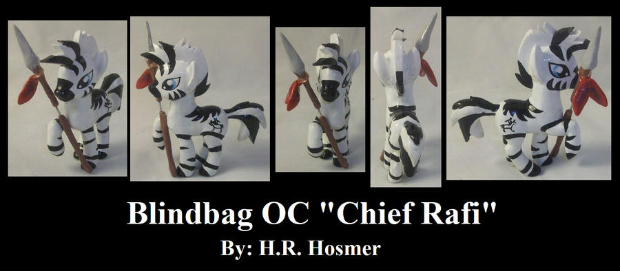 Blindbag OC Chief Rafi by Gryphyn-Bloodheart