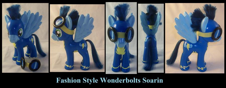 Fashion Style Soarin Wonderbolt by Gryphyn-Bloodheart