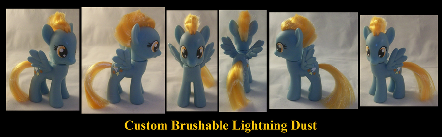 Lightning Dust Custom by Gryphyn-Bloodheart