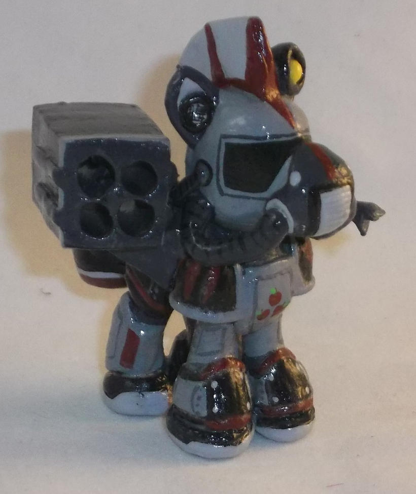 Blindbag Steelhooves from Fallout Equestria by Gryphyn-Bloodheart