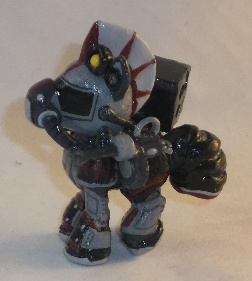 Blindbag Steelhooves from Fallout Equestria 2 by Gryphyn-Bloodheart