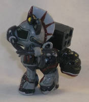 Custom Blindbag Steelhooves by Gryphyn-Bloodheart
