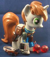 Custom Funko LittlePip w 3D Printed Accessories by Gryphyn-Bloodheart