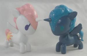 Unicorno Princess Celestia and Princess Luna by Gryphyn-Bloodheart