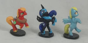 Chupa Chups Big Mac, Nightmare Moon, and Derpy