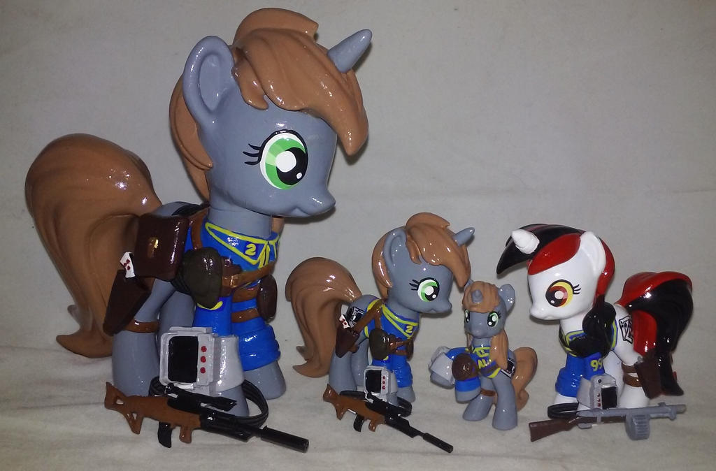 Fallout Equestria Customs FOR SALE by Gryphyn-Bloodheart