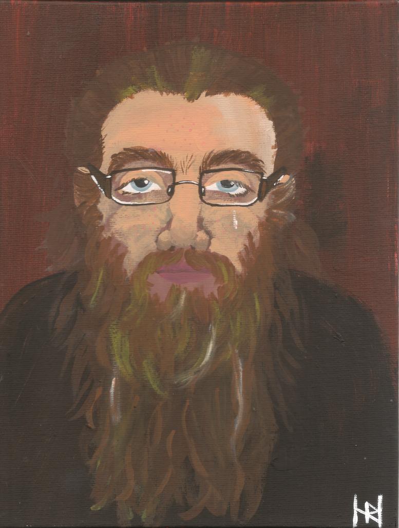 Portrait of a Tearful Ex-Lover by Gryphyn-Bloodheart