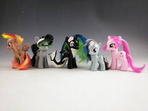 Everfree Northwest Mascots Brushables