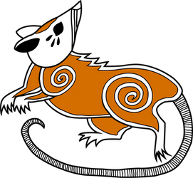 Vermin Tribe Possum 2 in Color