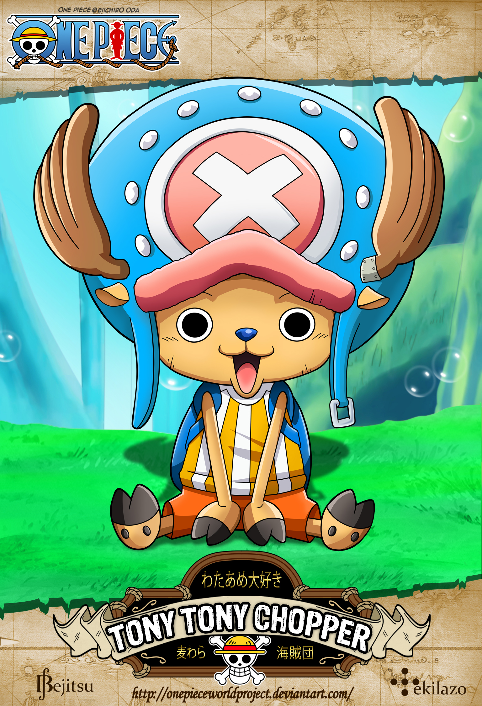 One Piece - Tony Tony Chopper by OnePieceWorldProject