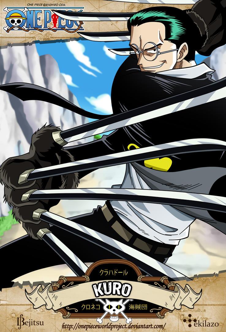 One Piece - Kuro by OnePieceWorldProject