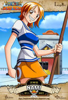 One Piece - Nami by OnePieceWorldProject