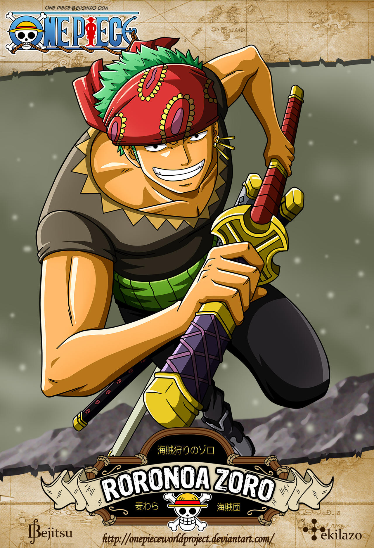 One Piece Chopper New World One Piece - Roronoa Zo...