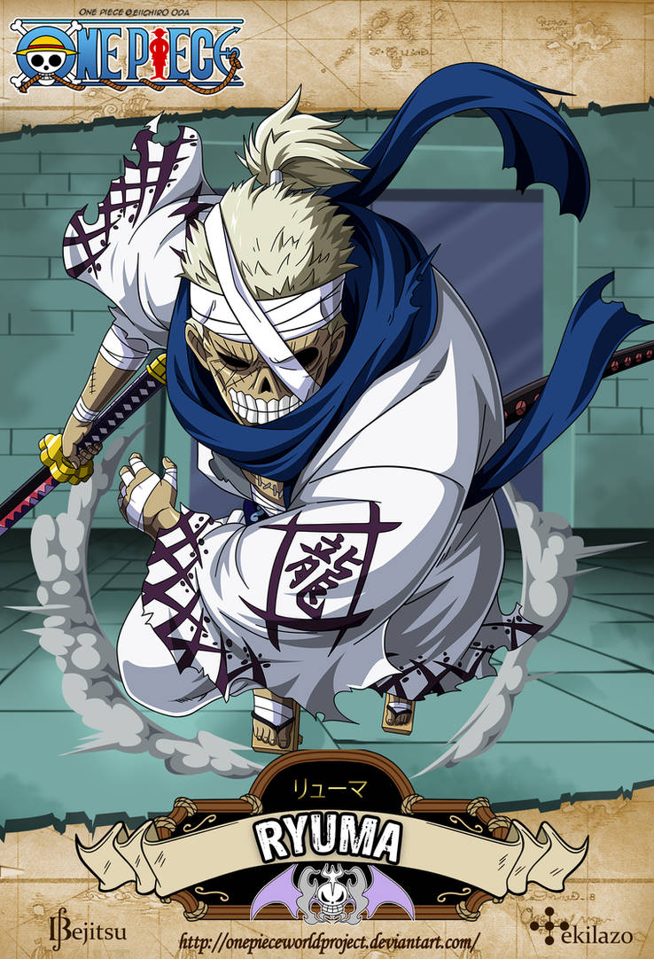 One Piece - Ryuma by OnePieceWorldProject