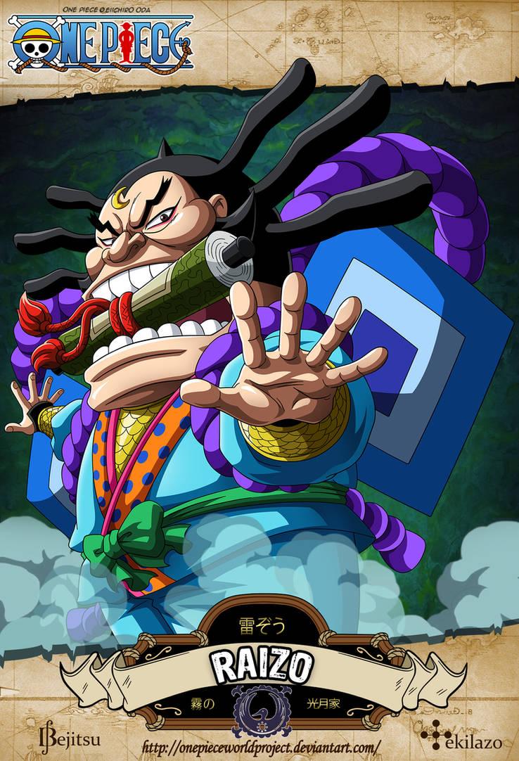 One Piece - Raizo by OnePieceWorldProject