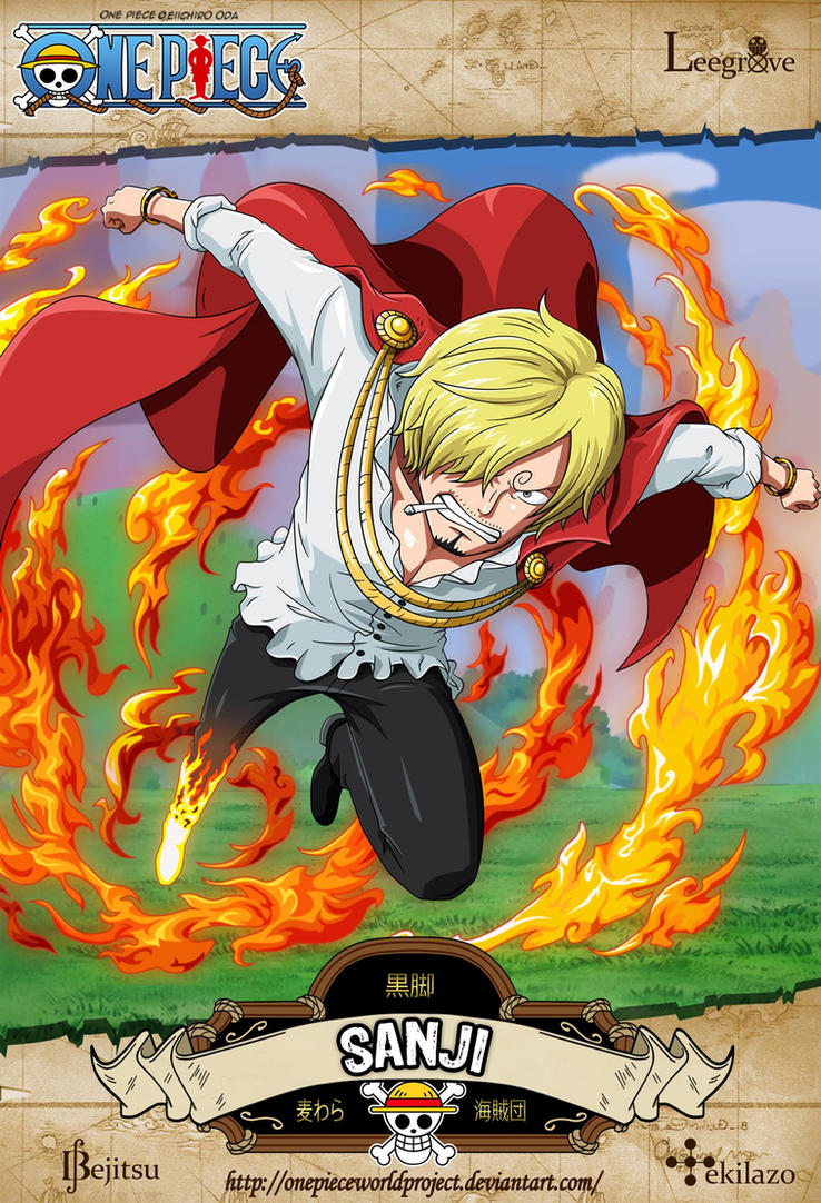 One Piece - Sanji by OnePieceWorldProject