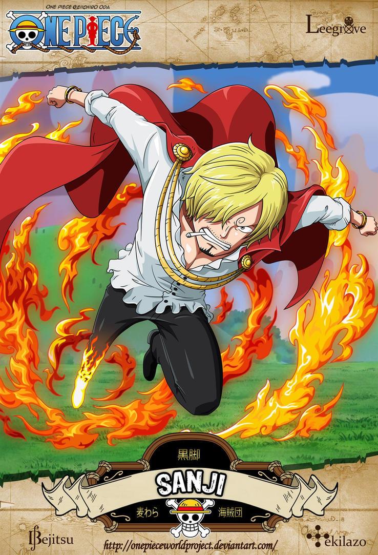 One Piece - Sanji by OnePieceWorldProject
