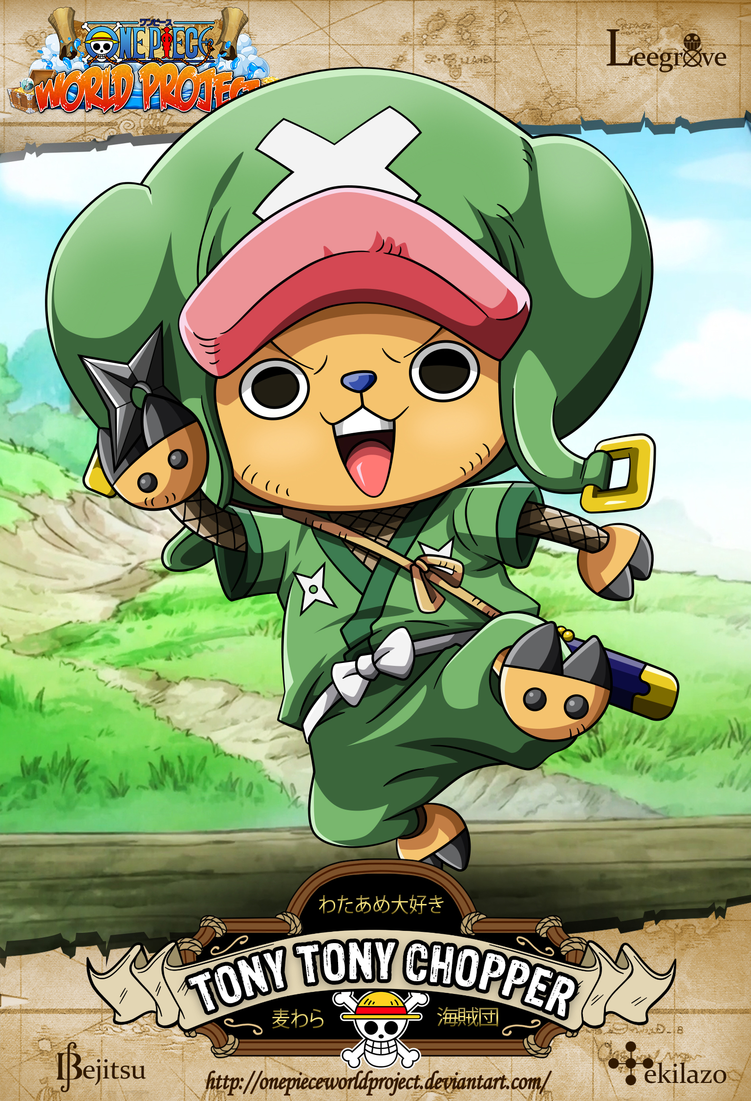 One Piece Tony Tony Chopper By Onepieceworldproject On Deviantart