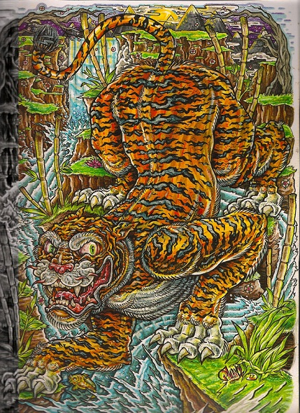 TIGER style by phayce