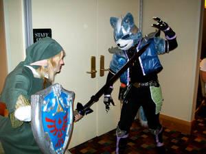 DragonCon 2009- Wolf v. Link