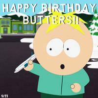 Happy Birthday Butters!!! by MrScaryJoe
