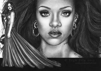 Rihanna by 22Zitty22