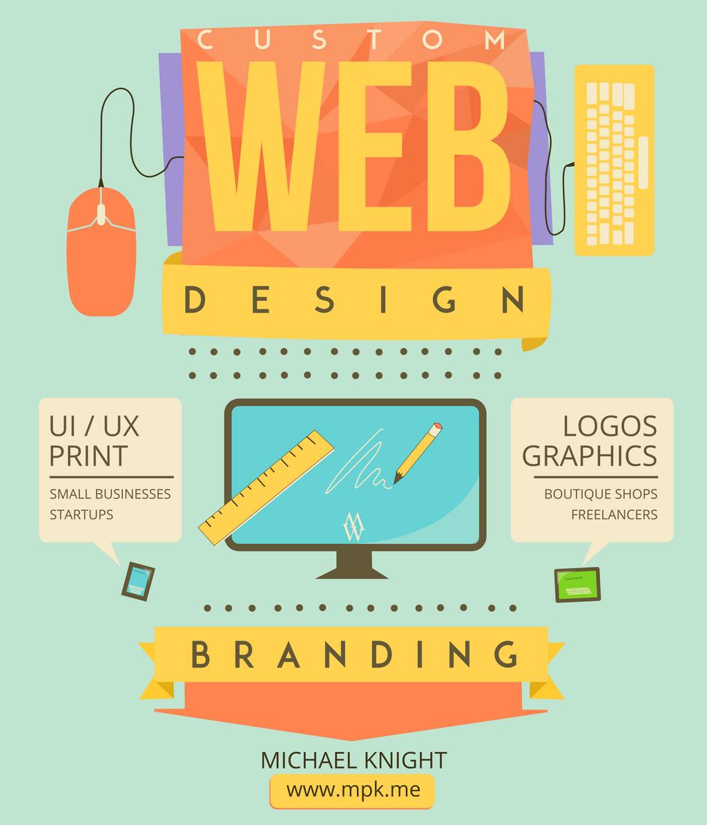 Web Design and Branding Flyer by KnightRider71 on DeviantArt