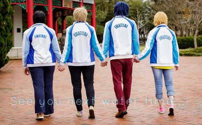 Free- The Iwatobi Swim Team by Rurounichan
