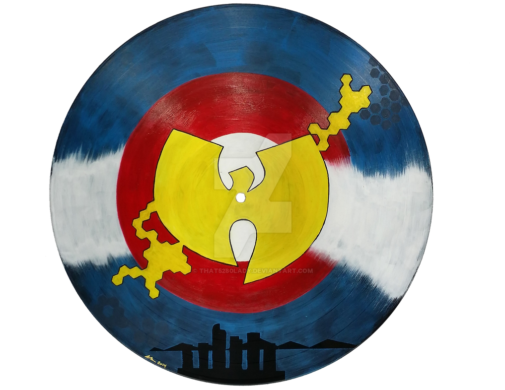 Wu Tang Colorado Flag by that5280lady